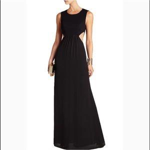 BCBGMaxAzria Dresses - NWT BCBG Angelinah cut-out formal black gown